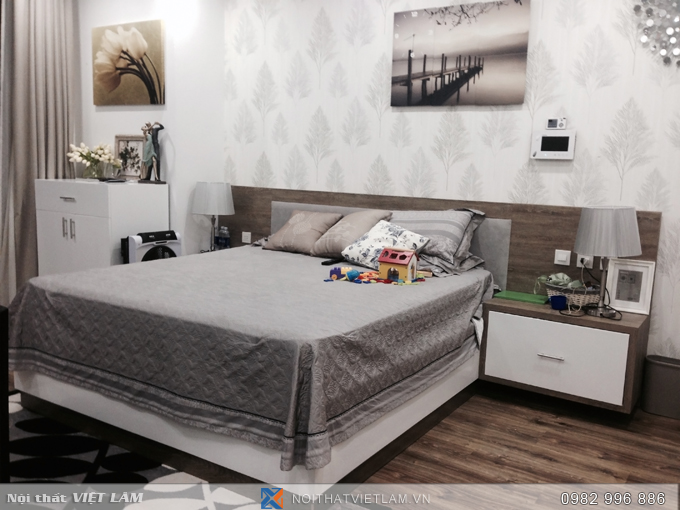Giường ngủ Laminate Kingdom VL.GN1820.03