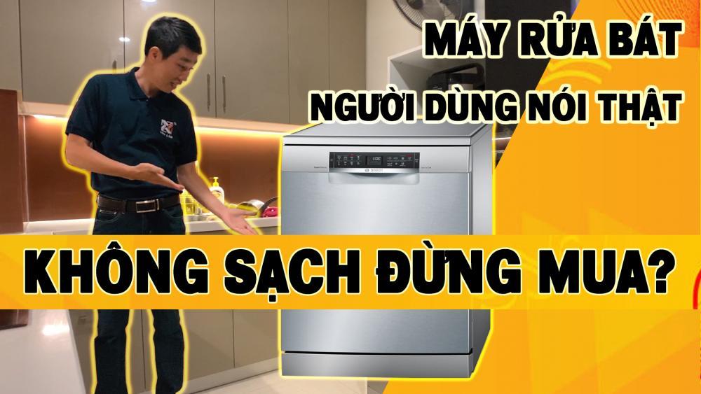 Review máy rửa bát Bosch Serie 6 mã SMS68TI02E